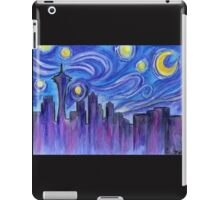 Starry Night Over Seattle iPad Case/Skin