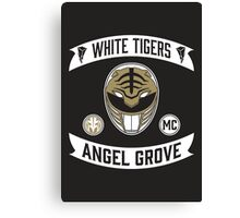 Angel Grove Motorcycle Club (White Tigers) Canvas Print
