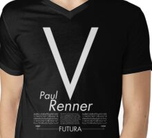 Futura Mens V-Neck T-Shirt