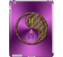 Gemini & Rooster Yin Earth iPad Case/Skin