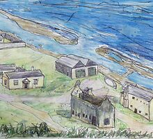 Convict Settlement, Norfolk Island by John Douglas