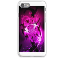 Leaping Dancers in Silhouette and Purple Background iPhone Case/Skin