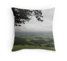 Clouds over the Countryside Throw Pillow