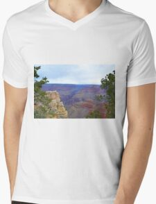 Grand Canyon 10 Mens V-Neck T-Shirt
