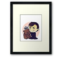 Crowley Adopts A Wombat Framed Print