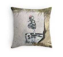 Balancing Act by Component Throw Pillow