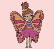 Butterfly Fairy One Piece - Short Sleeve