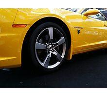Transformers Chevy Camaro Photographic Print