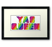 Broad City YAS QUEEN Framed Print
