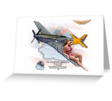 Shawnee Princess - P-51 Mustang Greeting Card