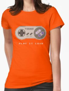 Play it Loud! - Sprite - Super Nintendo Womens Fitted T-Shirt