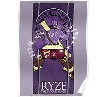 Ryze, the Rogue Mage Poster