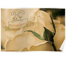 Roses for Easter Poster