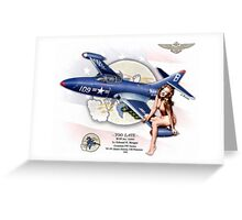 Too Late - F9F-2 Panther Greeting Card