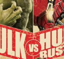 monster versus machine Sticker