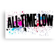 All Time Low Canvas Print