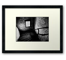 Dark Descent Framed Print