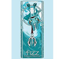 Fizz, the Tidal Trickster Photographic Print