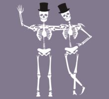 Classy Skeletons Kids Clothes