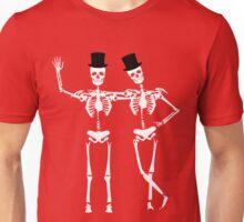 Classy Skeletons Unisex T-Shirt