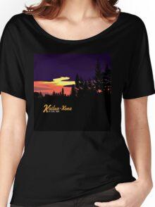Kailua Kona Hawaii Sunset Women's Relaxed Fit T-Shirt