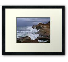 Waves of Thunder Framed Print