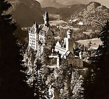 Neuschwanstein,Germany by Hugh Jorgen