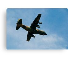 C130 Hercules Aircraft Canvas Print