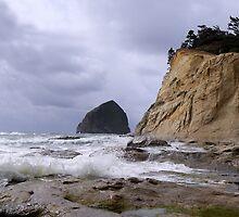 Haystack Rock by Kelly Carmody