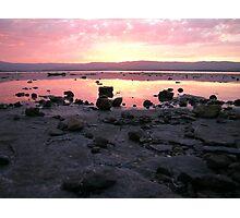 Lake Illawarra Rocky Shore Photographic Print