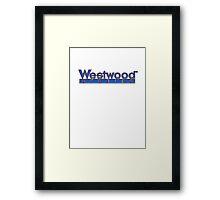 Westwood Framed Print