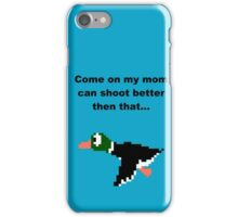 Duck hunt-2 iPhone Case/Skin
