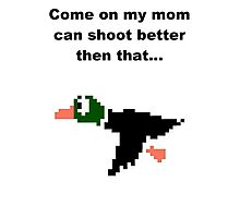 Duck hunt-2 Photographic Print