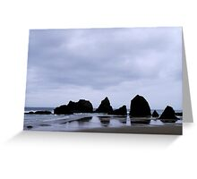 Rocky Spine Greeting Card