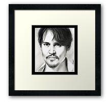Johnny Depp  Framed Print