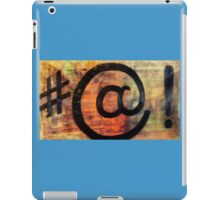 Gerge bush & bill Clinton meet iPad Case/Skin