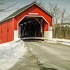 Carlton Covered Bridge - Swanzey - New Hampshire - USA by TonyCrehan