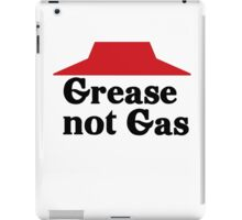 Grease not Gas iPad Case/Skin