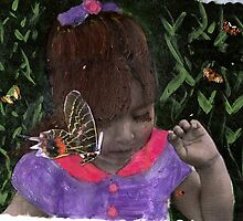 Butterfly Kisses (my Niece Alexandra) by RobynLee