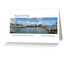 Magnetic Island barge Greeting Card