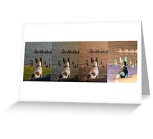 Jack Russel Panorama Greeting Card