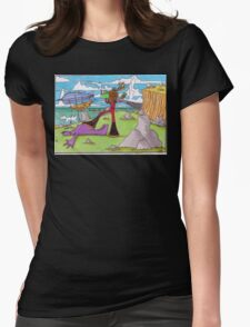 Extinction of the Grimus Womens Fitted T-Shirt