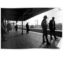One Morning at Southall Station Poster