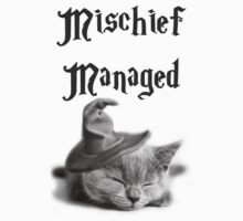 Kitten - Mischief Managed One Piece - Short Sleeve