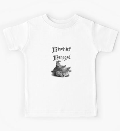 Kitten - Mischief Managed Kids Tee