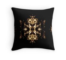 Triptych by Leny L Throw Pillow