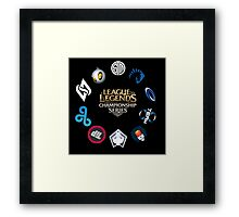 LCS Season 5 Framed Print
