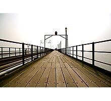 Pier Review Photographic Print