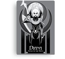 Diana, Scorn of the Moon Canvas Print