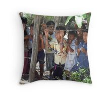 Children of the Killing Fields, Cambodia Throw Pillow